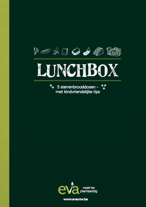 Veggie lunchbox met plantaardige en veggie boterhamideetjes