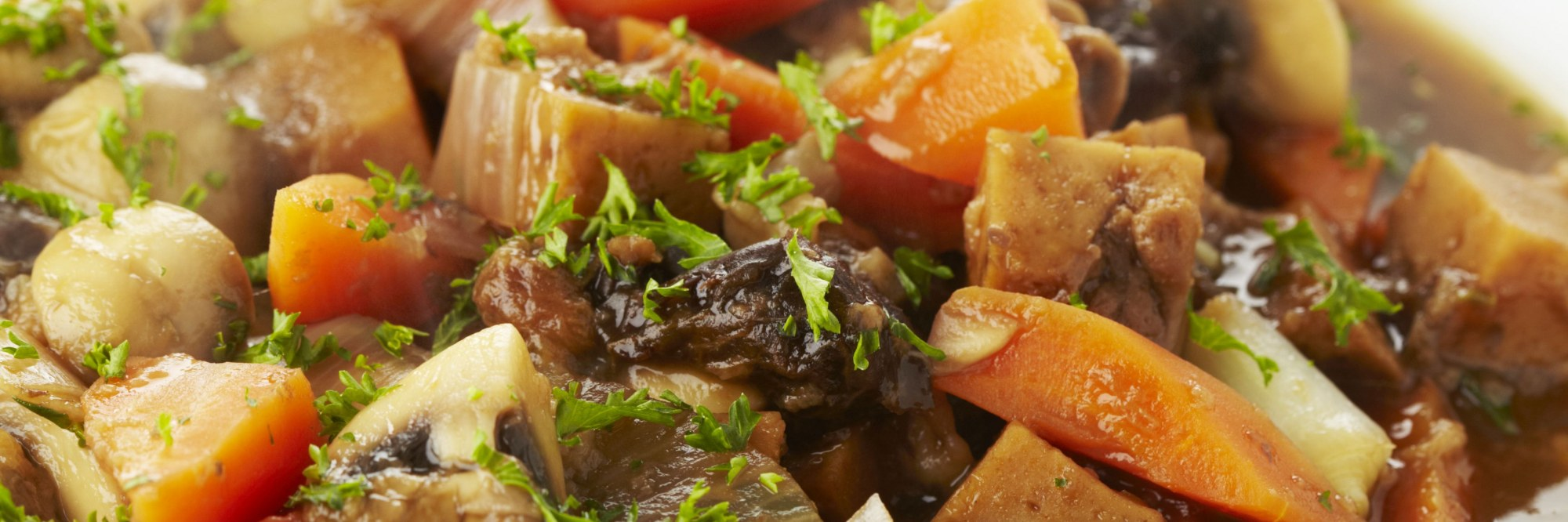 Ragoût aux légumes et au seitan