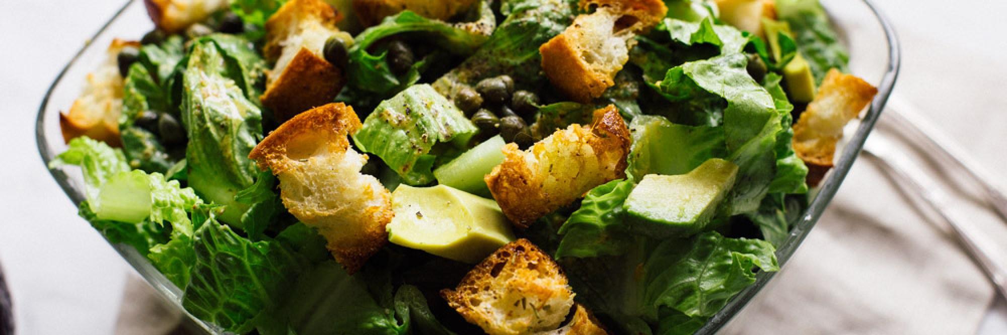 Salade César Vegane