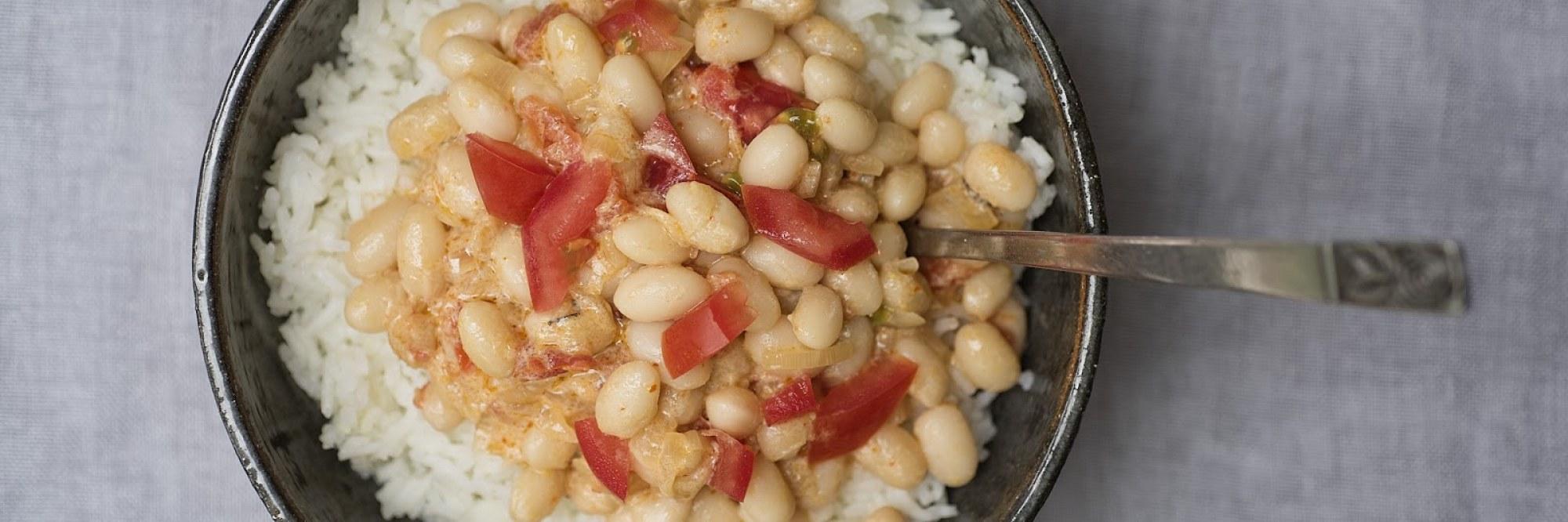 Vegan Jamaicaanse boontjes