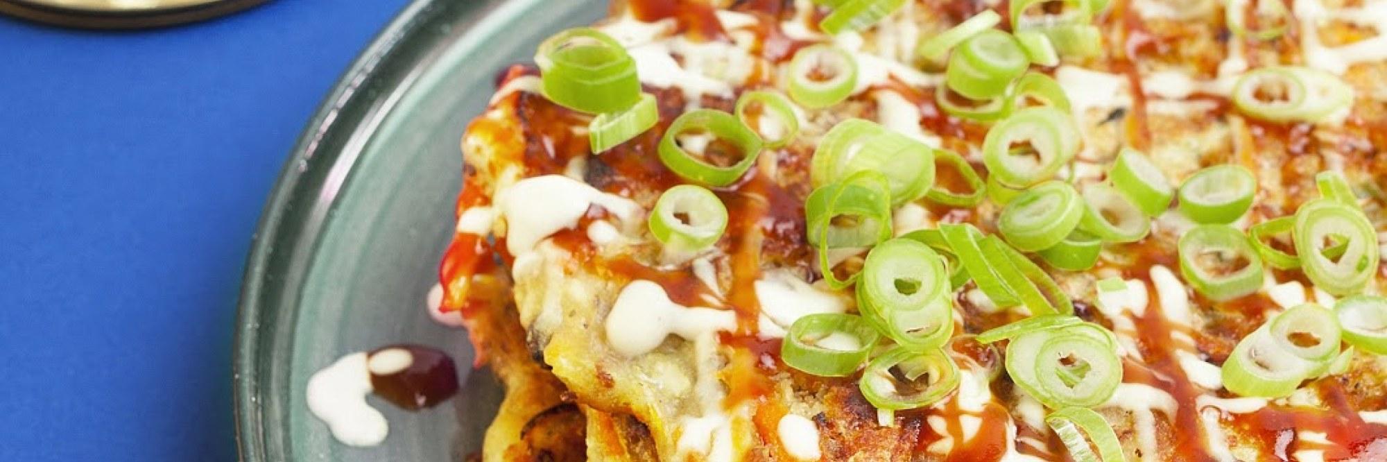 Okonomiyaki pannenkoekjes