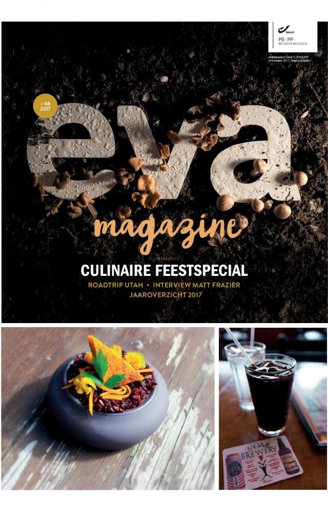 EVA Magazine ledenblad