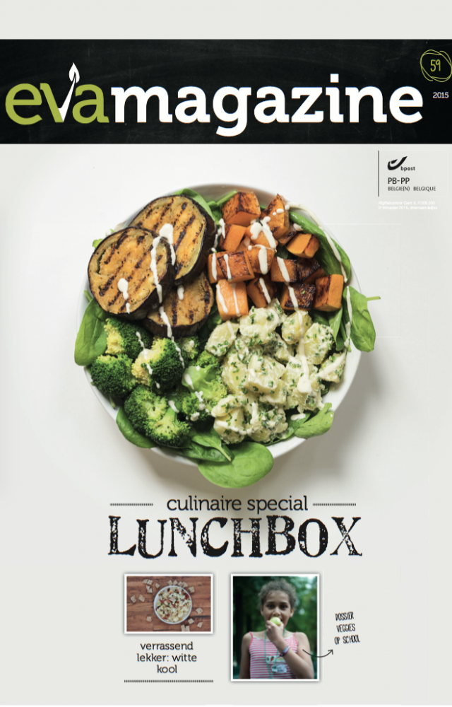 EVA magazine herfst 2015 veggie lunchbox