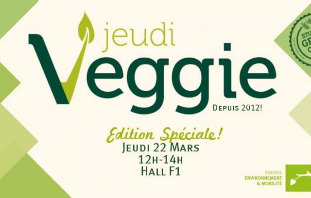 Jeudi Veggie - Édition spéciale Public · Organisé par ULB Environnement - Student Green Office SGO