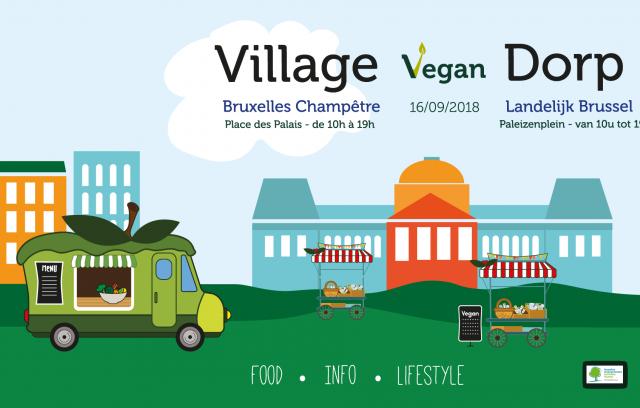 Village Vegan Dorp à Bruxelles Champêtre