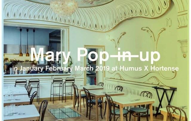 Mary Pop (in) up at Humus x Hortense