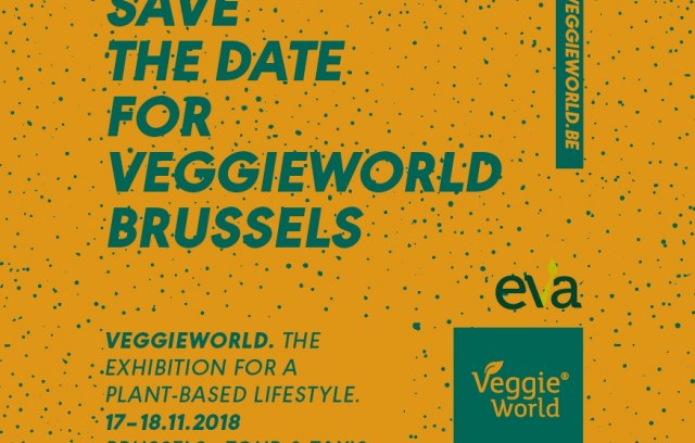 SAVE THE DATE: VeggieWorld Bruxelles