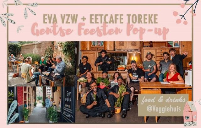 Fêtes Gantoises Restaurant Pop-up avec le café-resto Toreke
