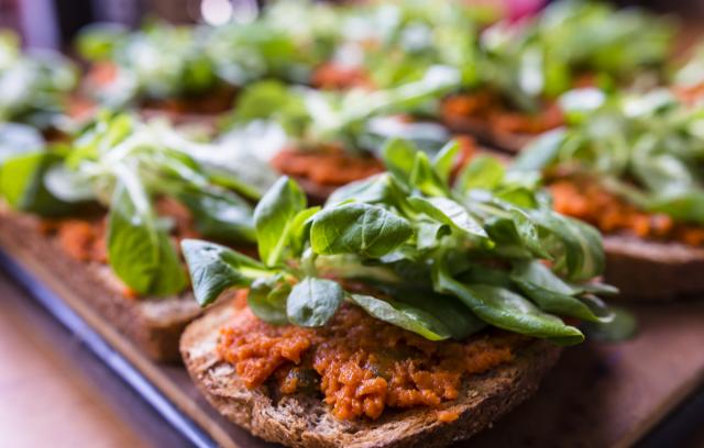 vegan spread plantaardig broodbeleg veggie tartino