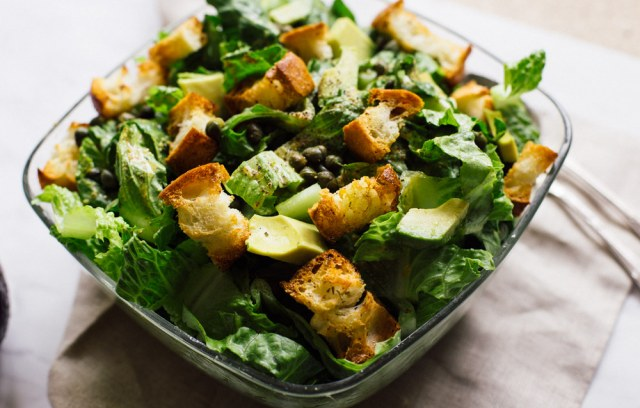 Vegan Caesar Salad