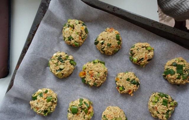 Biscuits salés aux flocons d'avoine