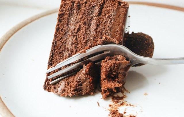 Cake met streepjes